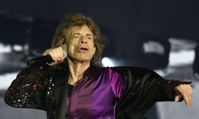 Mick Jagger: ein Mann, der das Alter verweigert. Auch am Samstag in Spielberg.