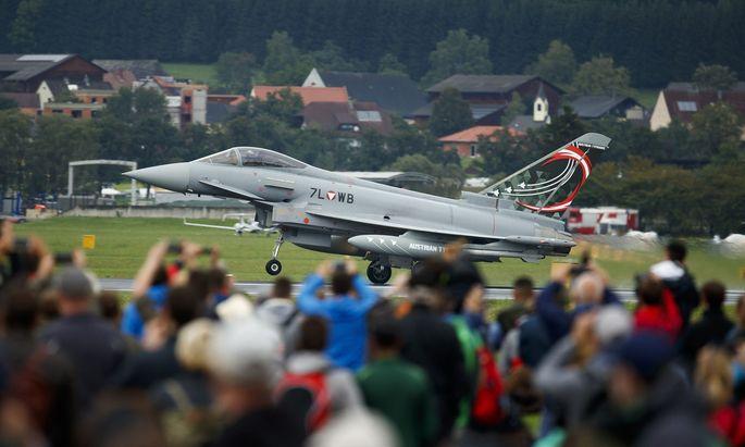 Im Jahr 2003 wurden die Eurofighter angekauft – das beschäftigt die Justiz bis heute.