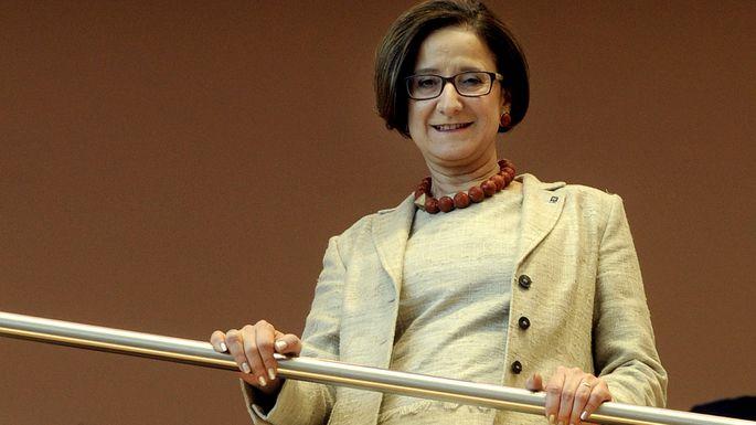 Mikl-Leitner im Landtag bei ihrer Angelobung zur Landeshauptmann-Stellvertreterin im April 2016.