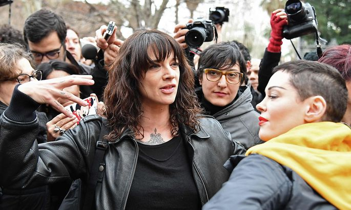 Asia Argento meldete sich erstmals seit den Vorwürfen zu Wort.