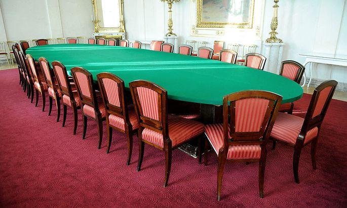 Archivbild: Der Sitzungssaal