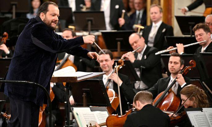 Österreich - Wiener Neujahrskonzert mit Andris Nelsons