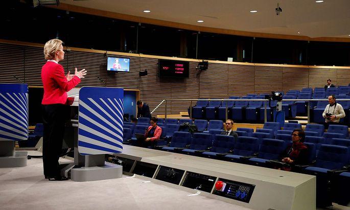 EU-Kommissionspräsidentin Ursula von der Leyen.