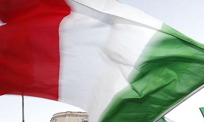 Symbolbild: Eine italienische Flagge.