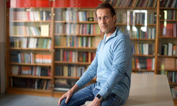 Spitzenkandidat der KPÖ PLUS-Wahlplattform 'Wir können', Ivo Hajnal