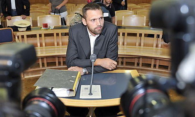 Stefan Matschiner vor Gericht
