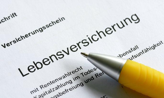 DEU DEUTSCHLAND Der Versicherungsschein einer Lebensversicherung DEU GERMANY The certificate
