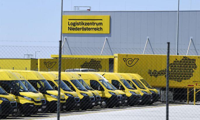 Das Postverteilerzentrum Hagenbrunn in Niederösterreich.
