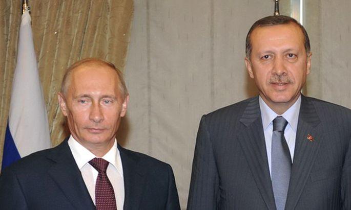 Wladimir Putin und Recep Tayyip Erdoğan (Archvibild).