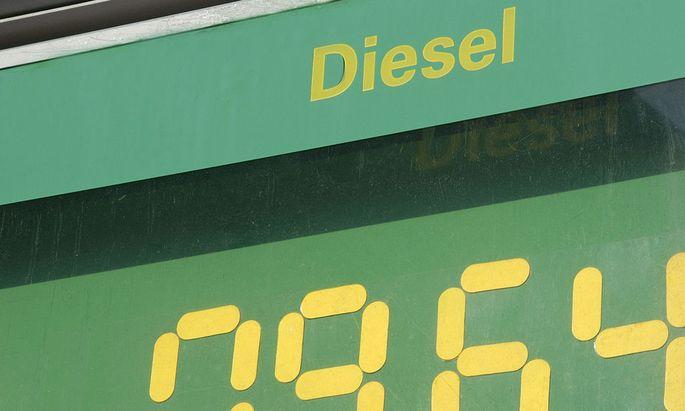 Tankstelle Dieselpreis