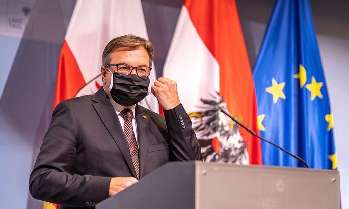 Landeshauptmann Günther Platter (ÖVP)
