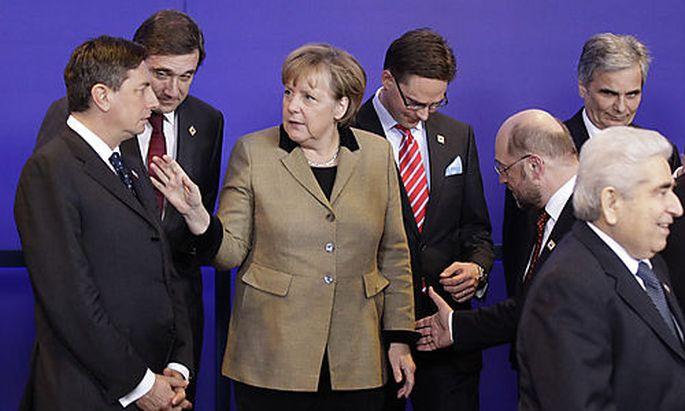 Angela Merkel, Borut Pahor