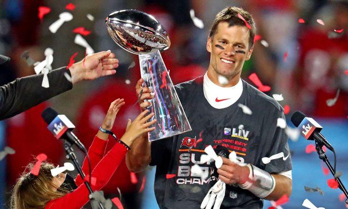 Tom Brady war der wertvollste Spieler der Partie.