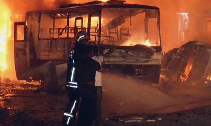 Bombenexplosion in Gaziantep