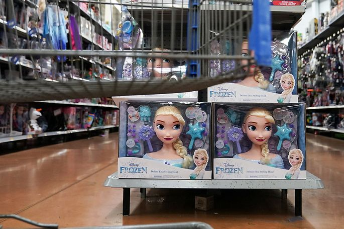 """Schon für Kindergartenkinder halten mediale Erlebniswelten wie """"Frozen"""" ein enormes kommerzielles Angebot bereit."""
