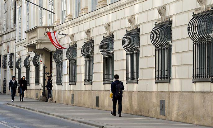 Innenministerium in der Herrengasse