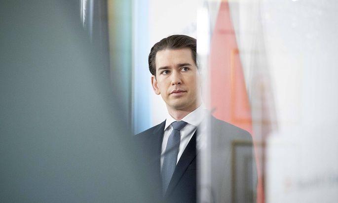 January 17, 2021, Vienna, Austria: Federal Chancellor SEBASTIAN KURZ (OEVP) announces the Government of Austria s decis