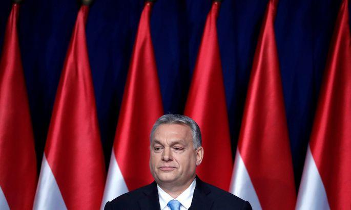 Ungarns Ministerpräsident, Viktor Orbán.