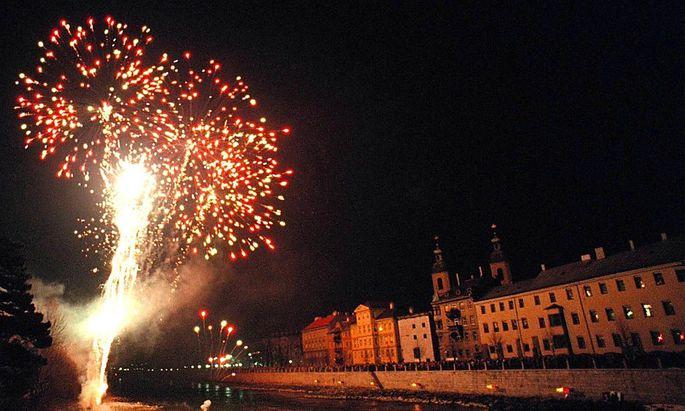 Archivbild: Silvester in Innsbruck