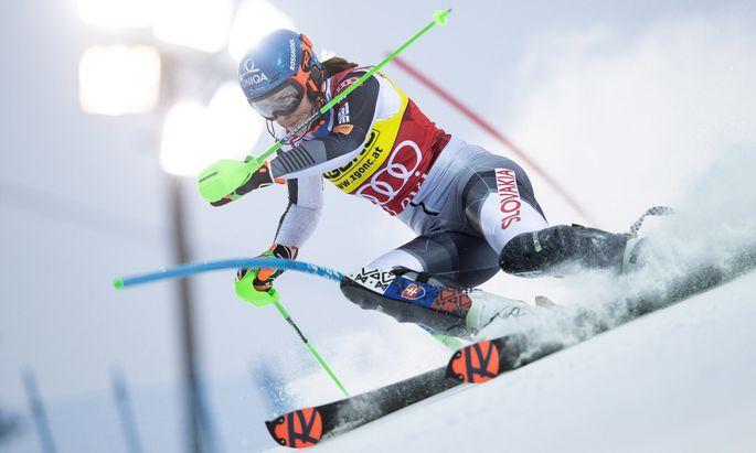 Die kraftvollsten Schwünge, der größte Siegeswille: Petra Vlhová ist die Rennläuferin, die es in diesem Winter zu schlagen gilt.
