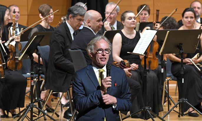 Konzert der Wiener Akademie unter der Leitung von Martin Haselböck als Dirigent (Archivbild).
