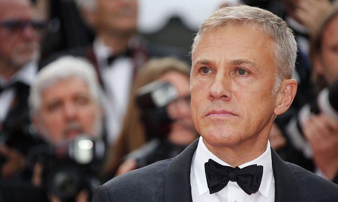 Christoph Waltz (hier im Mai in Cannes) spielt in einer noch titellosen Thriller-Serie mit.