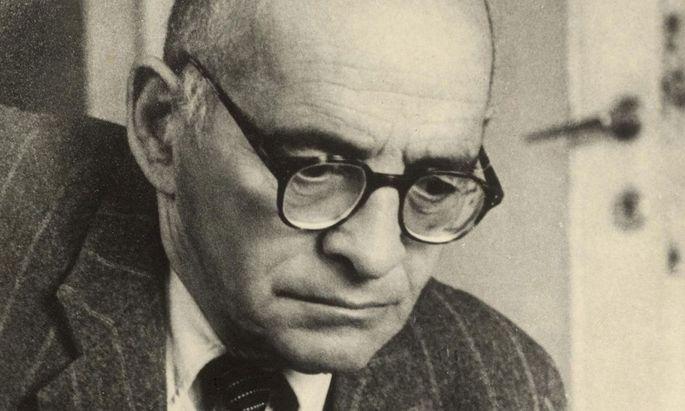 Wünscht sich sein Grab im Kaffeehaus, wo er als Gegner im Schach gefürchtet ist: Leo Perutz.
