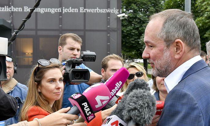 SPÖ-Bundesgeschäftsführer Thomas Drozda nach der Festlegung der Bundesliste am 10. Juli.