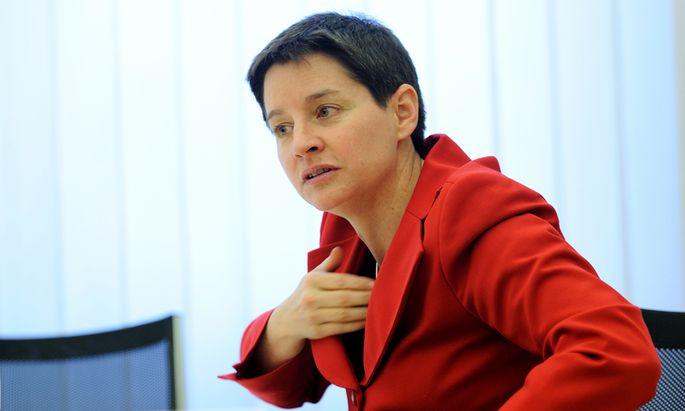 Sozialstadträtin Sonja Wehsely.