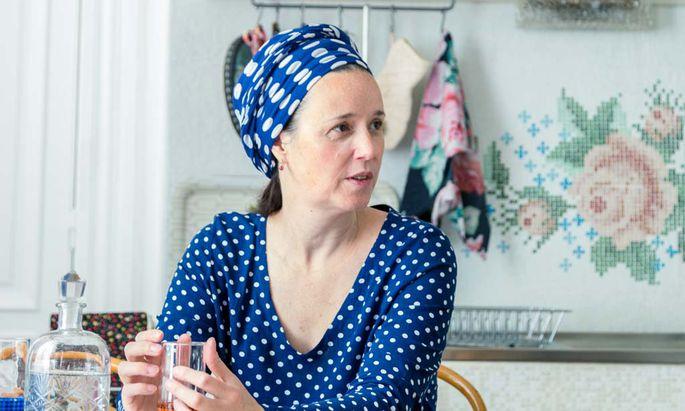 Modeschöpferin Susanne Bisovsky liebt den Blick auf Geschichte.