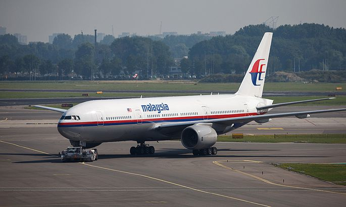 Malaysian Airlines Operations At Schiphol Airport As Midday Flight Leaves For Kuala Lumpur