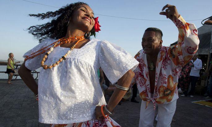 Carimbo Tänzer in Belém do Pará