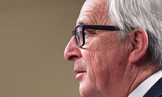 """Jean-Claude Juncker zum EU-Vorsitz: """"Die Österreicher machen das sehr gut. Manchmal gibt es Zwischenzungenschläge, die mir nicht so gefallen."""""""