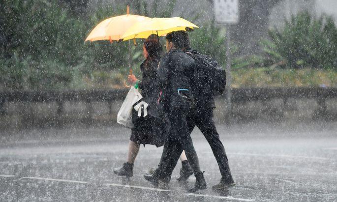Regenfälle sollen Entspannung in die Lage bringen.