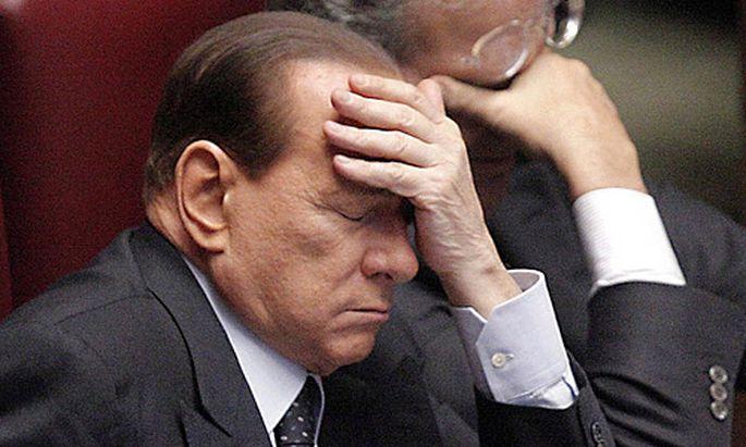 Italien Einspruch gegen BerlusconiProzess