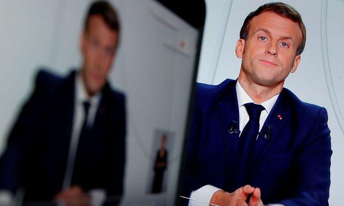 Frankreich ab Freitag im Lockdown - Macron kündigt neue Beschränkungen an