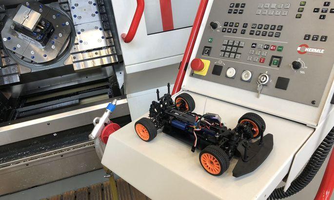 Das Endprodukt ist ein Rallyeauto. Noch arbeiten die Projektpartner aber am Feinschliff, etwa an optimalen Felgen.