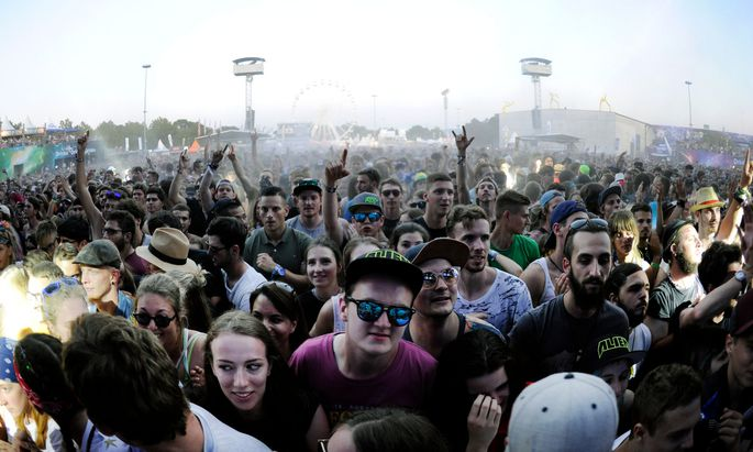 So sahen in den Vorjahren glückliche Festivalbesucher aus. Heuer muss das Publikum auf Großereignisse wie das Frequency verzichten.