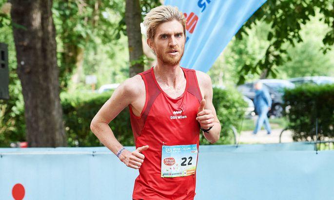 Patrick Krammer will sich heute beim Wien-Marathon behaupten.