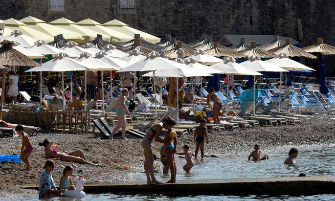 Montenegro hofft auf Touristen aus dem Westen