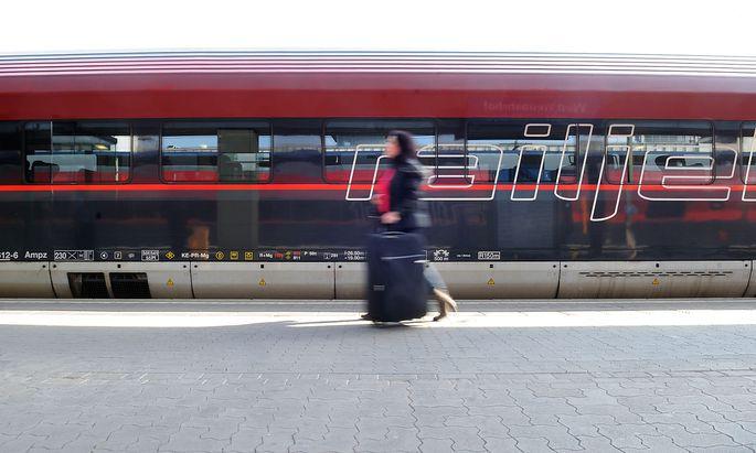 Zug in Wien
