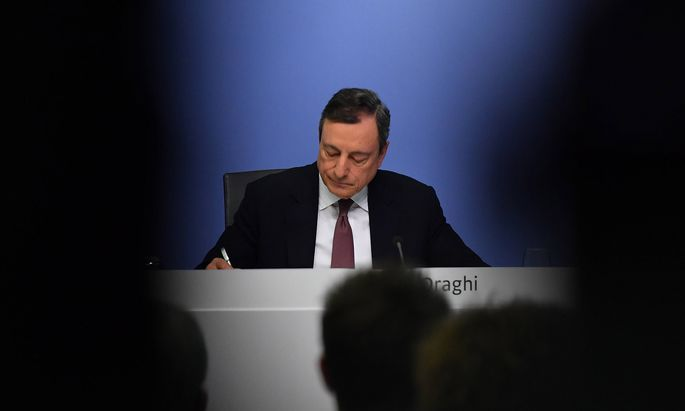 190307 FRANKFURT March 7 2019 Xinhua European Central Bank ECB President Mario Draghi