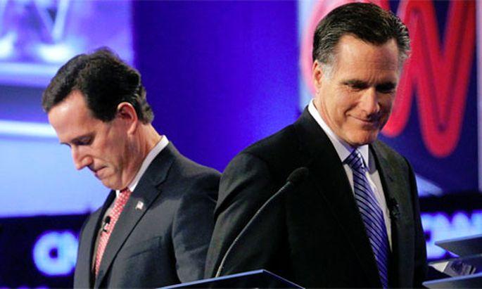 USRepublikaner Santorum zieht Romney