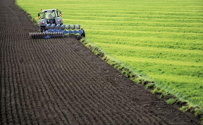 Herbstarbeiten in der Landwirtschaft