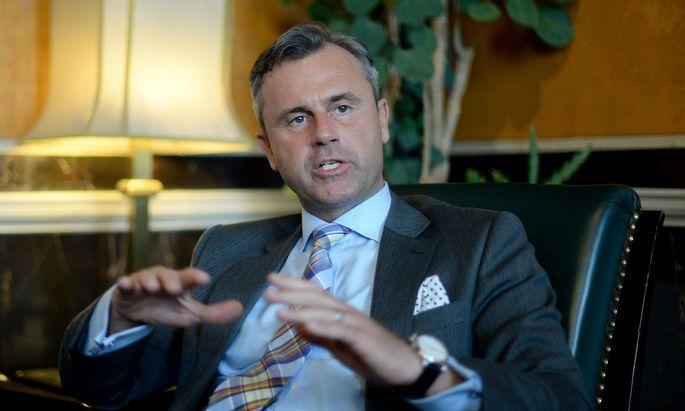 BP-WAHL: INTERVIEW NORBERT HOFER