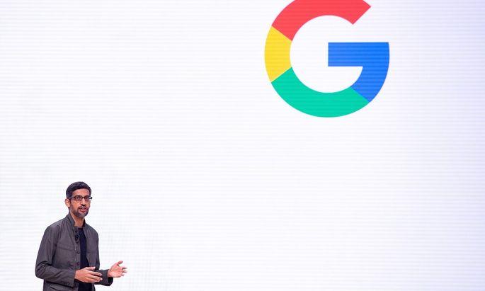 Google-Chef Sundar Pichai soll eine stärkere Rolle im Alphabet-Konzern haben.