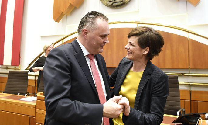 Burgenlands Landeshauptmann Hans Peter Doskozil und SPÖ-Chefin Pamela Rendi-Wagner