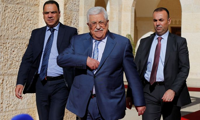 Mahmoud Abbas ist zu dringenden Gesprächen über die Jerusalem-Krise nach Ägypten gereist.