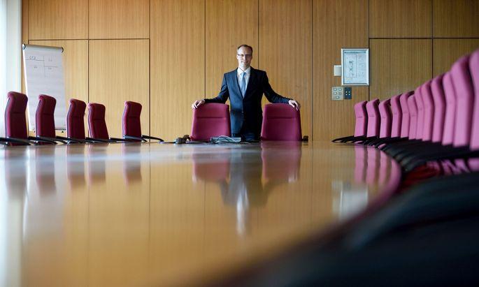 Alexander Biach, Präsident des Hauptverbands der Sozialversicherungsträger