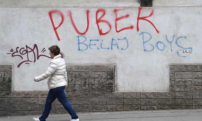 Puber, Wiens berüchtigster Sprayer ging der Polizei ins Netz